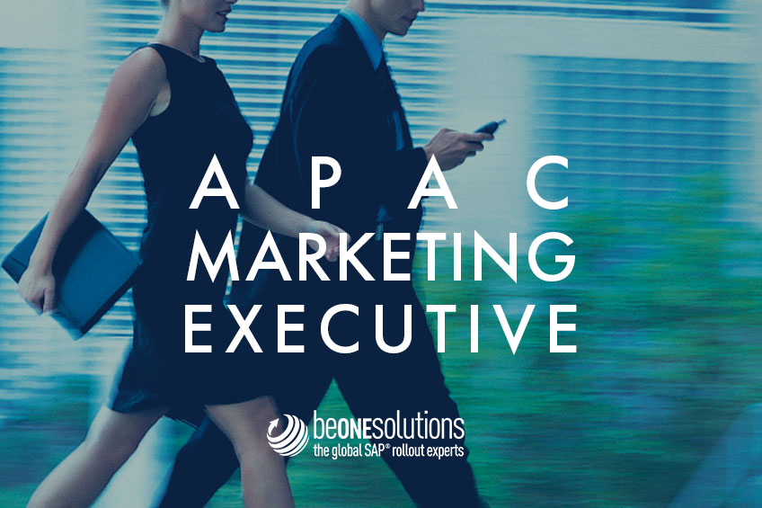 Be one solutions APAC Marketing executive