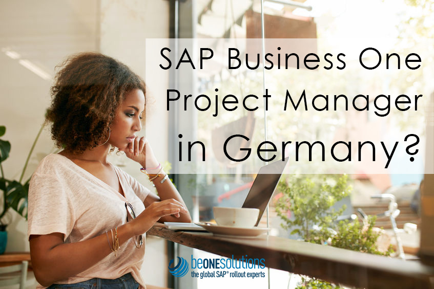 Be one solutions SAP Business One Project Manager in Germany