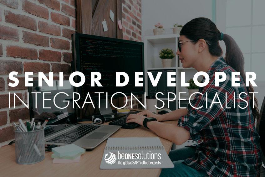 Be one solutions Senior developer integration specialist
