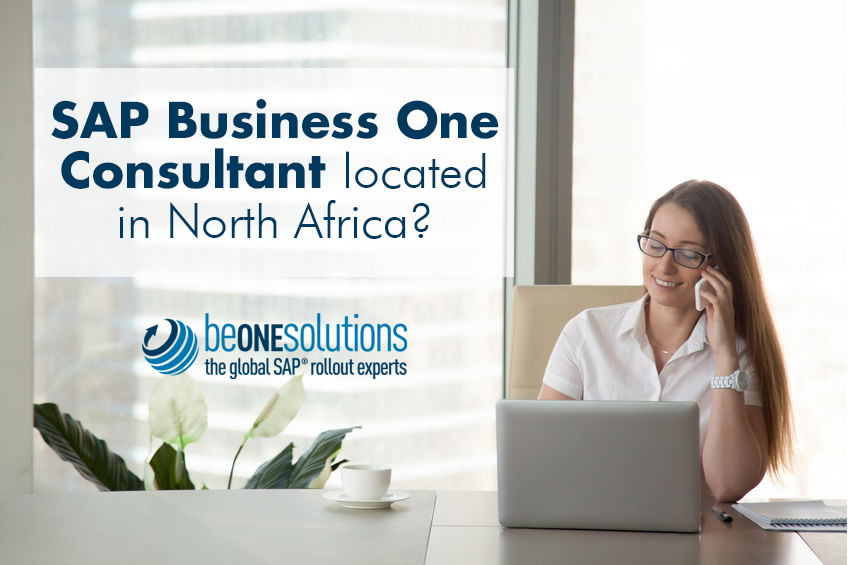 Be one solutions SAP Business One Consultant in North Africa