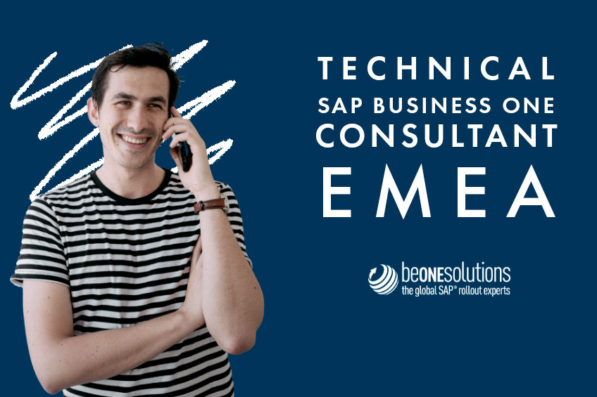 Be one solutions SAP Business one consultant EMEA